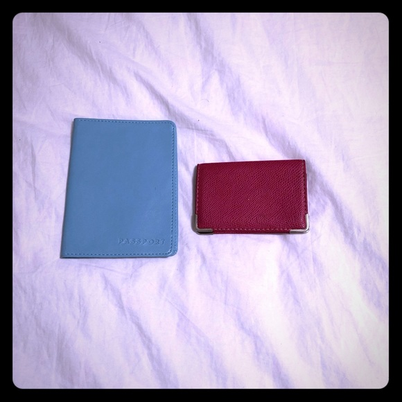 Passport Cover and Business Card Holder